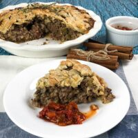Traditional Tourtière Recipe - French Canadian Meat Pie (Instant Pot or Stove Top)