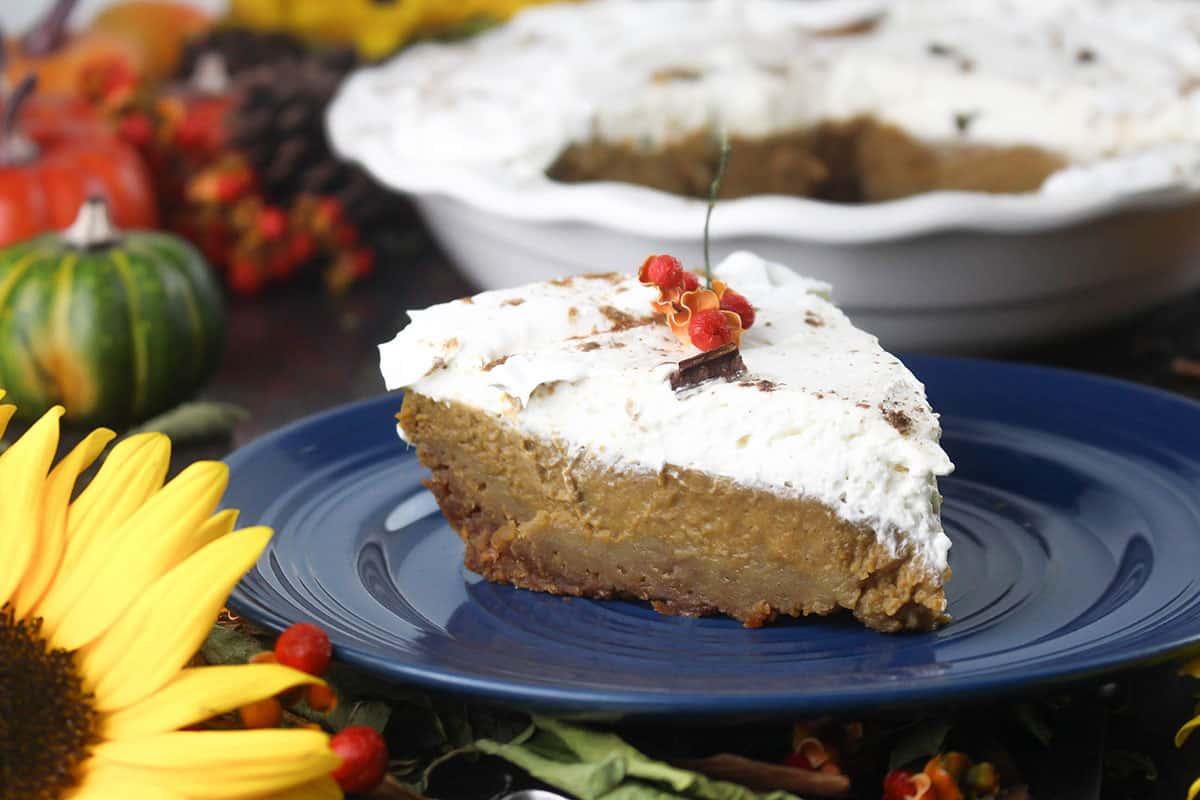 Kahlua (R) Pumpkin Pie Recipe