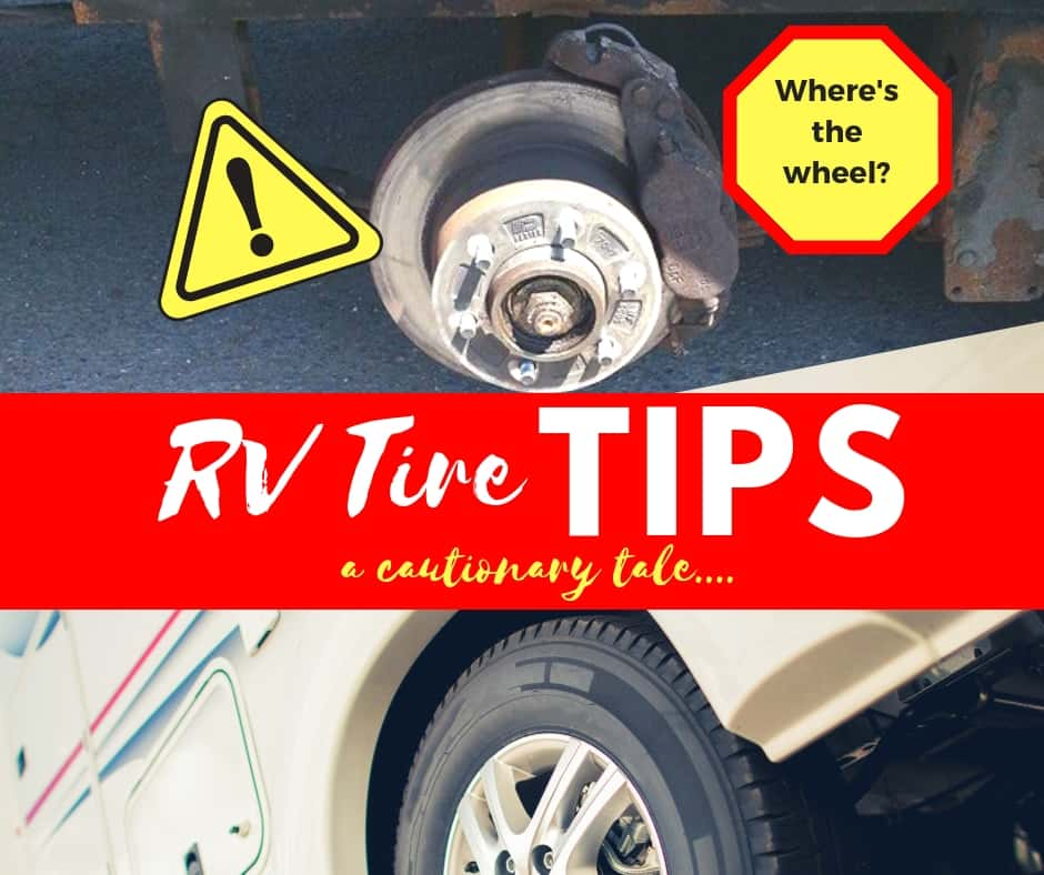 RV Tire Maintenance Could Save Your Life