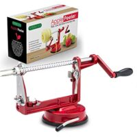 Cast Magnesium Apple/Potato Peeler Corer by Spiralizer, Durable Heavy Duty Die Cast Magnesium Alloy Peelers