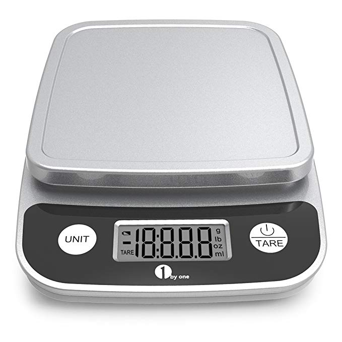 Digital Kitchen Scale Precise Cooking Scale and Baking Scale, Multifunction with Range From 0.04oz to 11lbs, Elegant Black