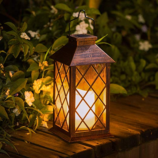 Outdoor Garden Hanging Lantern-Waterproof LED