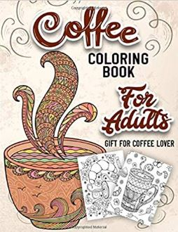 An Adult Coloring Book with Beautiful, Cute and Relaxing Images