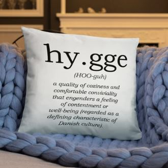 Hygge Throw Pillow