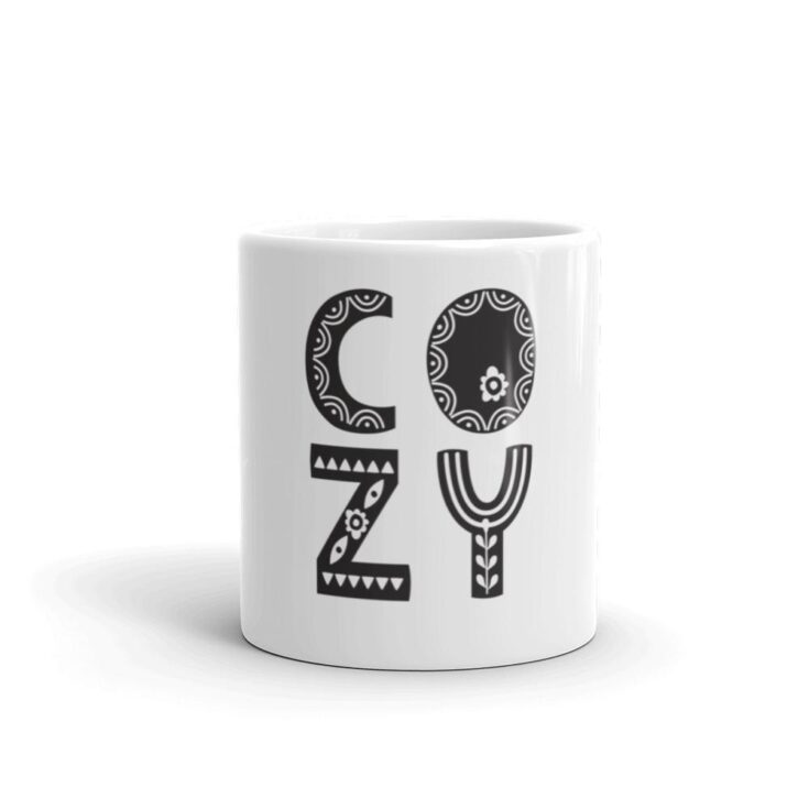 COZY Black Hygge Mug