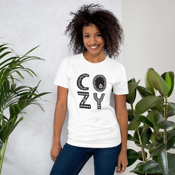 Short-Sleeve Unisex T-Shirt - COZY