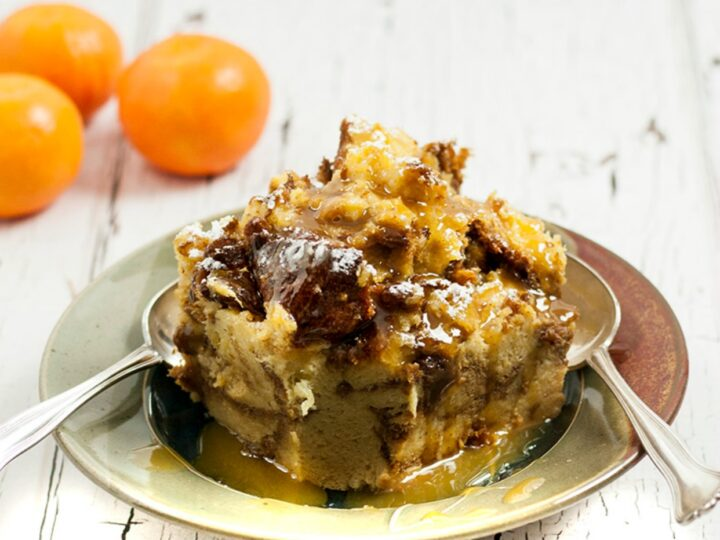 Panettone Bread Pudding {Instant Pot}