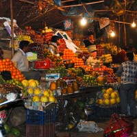 A Taste of India - Fruit Stand