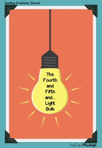 The Fourth and Fifth and... Light Bulb