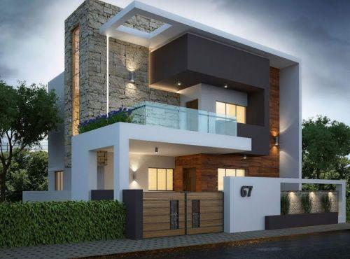 15 modeles facade de maison moderne en