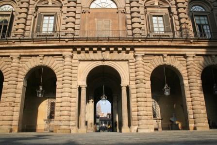 La cour du Palazzo Pitti