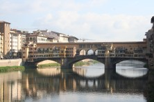Puis une petite balade près du Ponte Vecchio