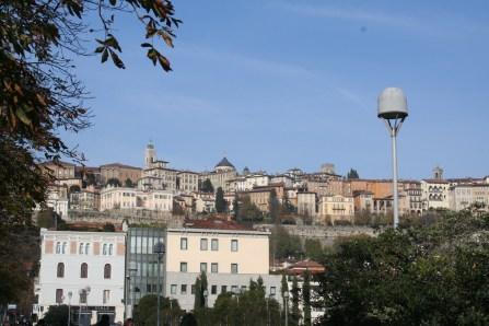 Ville du haut vue de la ville du bas !