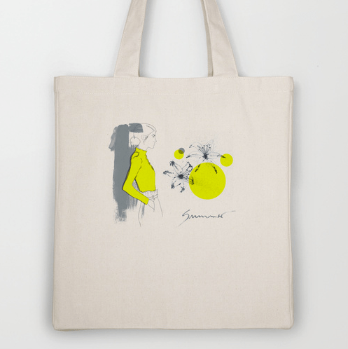 lily totebag by youdesignme