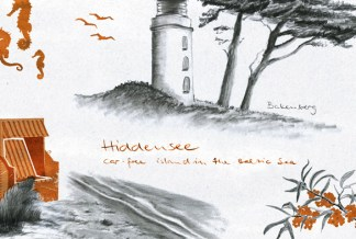 Hiddensee illustration by youdesignme 02
