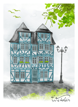 illustration_wetzlar_grün_by youdesignme