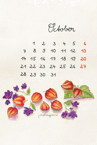 october-by-youdesignme-iphone-2G-3G