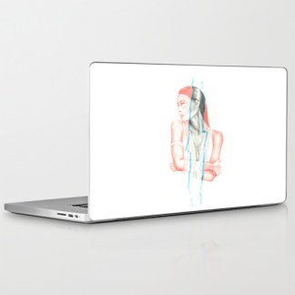illustration by youdesignme_id like to be_laptopskin