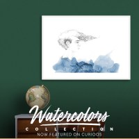 Featured watercolor***