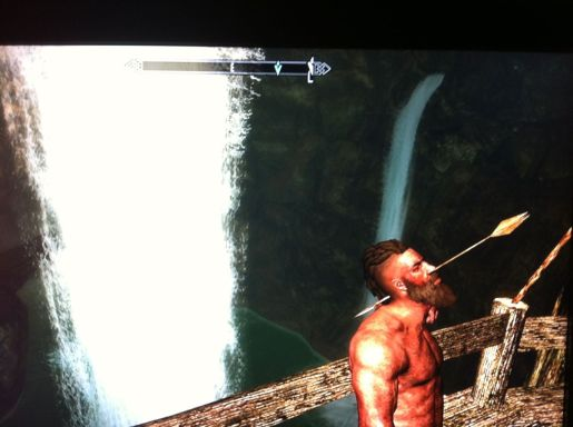 In between murdering and robbing innocent people, this bandit enjoyed serene waterfall vistas. We couldn't allow that.