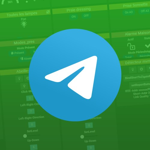 Jeedom Telegram – Installation