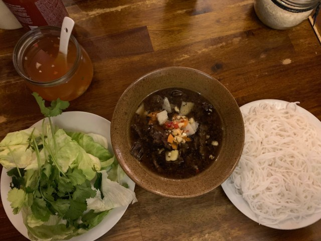 Bun Cha at Pho Vietnam Tua and lan prague