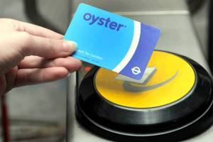 How to use oyster card in London