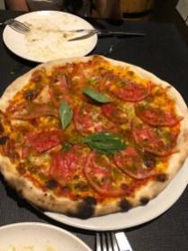 pizza at Coppola Bilbao
