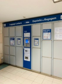 left luggage lockers in lisbon station