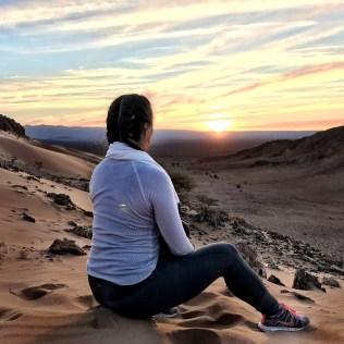 Zagora sunrise morocco
