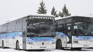 free shuttle courchevel