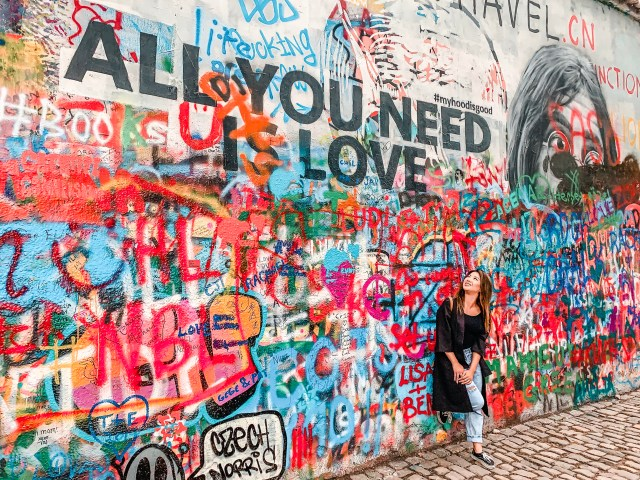 John Lennon Wall Prague Budget Travel Guide To Prague