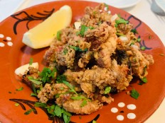 taberna restaurant fried calamari lisbon