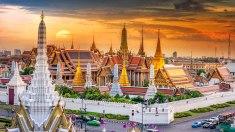 Grand Palace Sunset bangkok