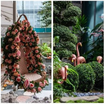 Sanderson Hotel Top London Floral Instagram Locations