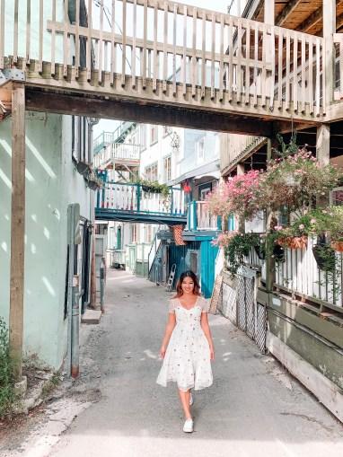 Rue sous le cap oldest street travel tips for quebec city