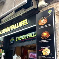 L'As du Fallafel budget travel to paris