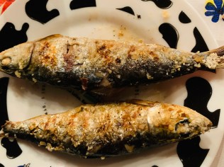 grilled sardines in lisbon