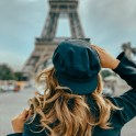 eiffel tower budget travel to paris