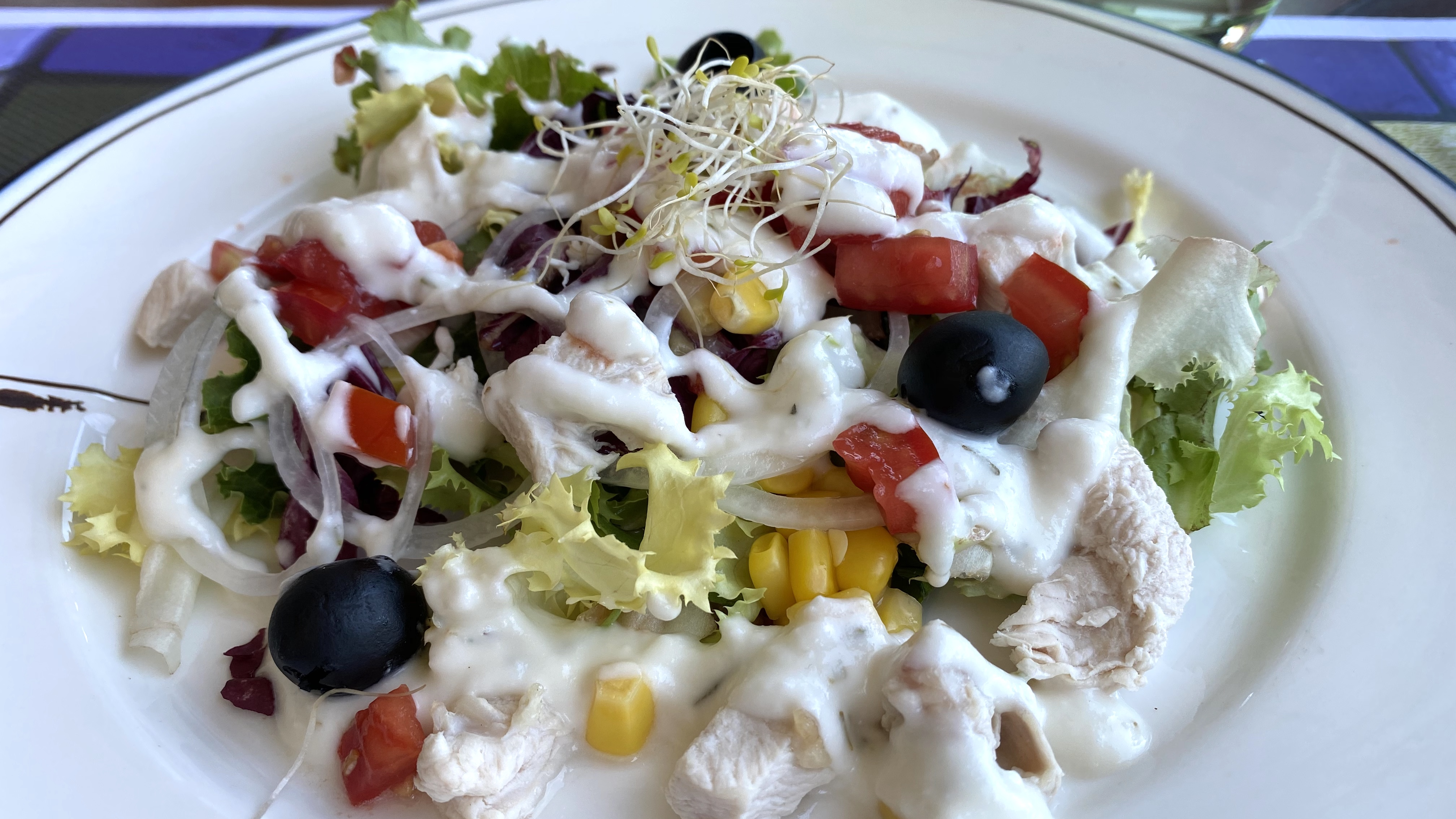 aravell restaurant caesar salad