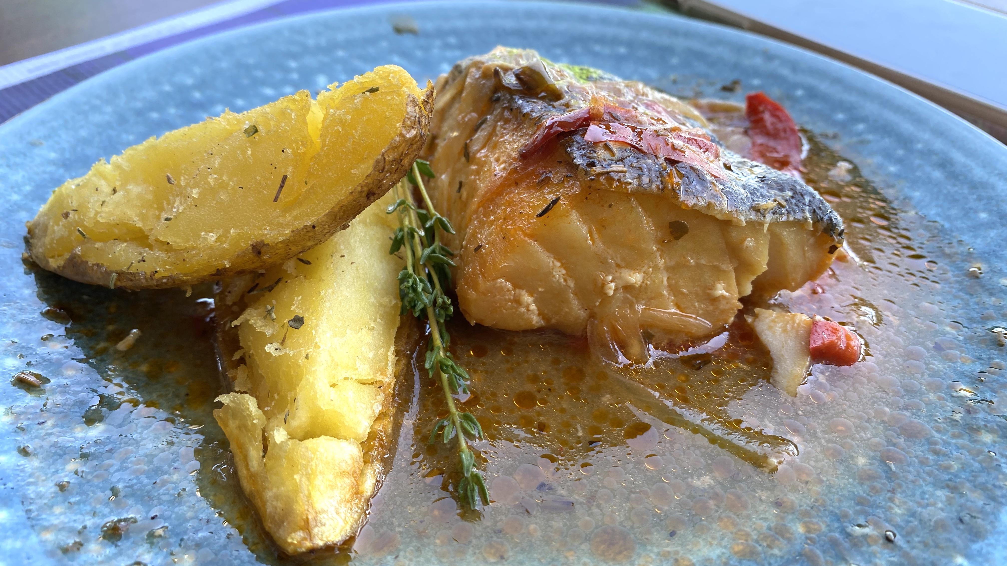 aravell restaurant cod fish