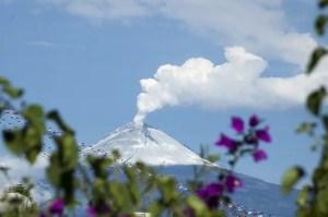 Volcano in Mexico Popocatepetl