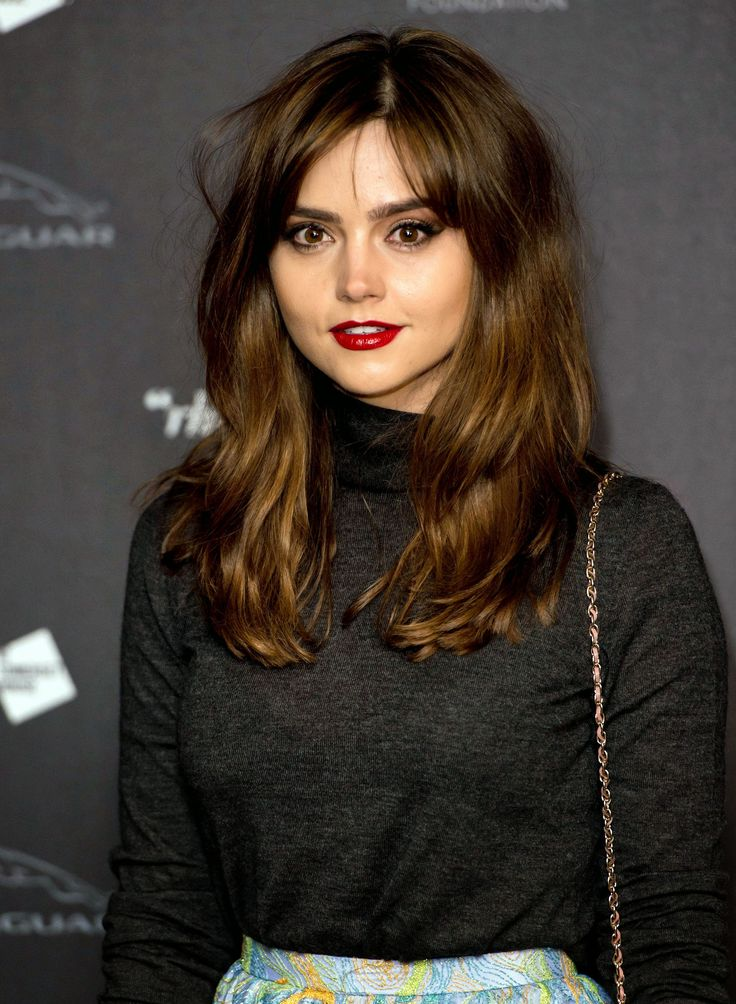 Trendy Hair Style Jenna Coleman Summary Film Actresses