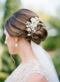 hair jewels wedding wedding hair with flowers jewels low ...