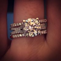 Diamond Rings : Uneek Engagement Ring and Wedding band ...