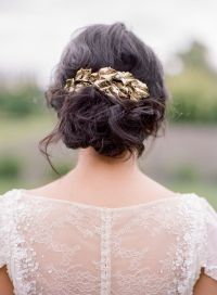 hair jewels wedding wedding hair with flowers jewels gold ...