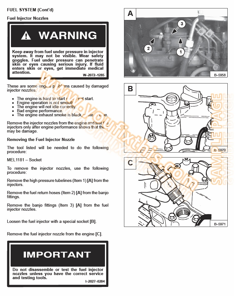bobcat 630 631 632 repair manual [skid steer loader] – youfixthis  youfixthis