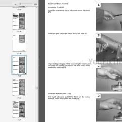 Bobcat 743 Parts Diagram Beko Cooker Wiring 743b 743ds Repair Manual Skid Steer Loader