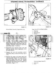 Ford New Holland 345d 445d 545d Repair Manual [Tractor