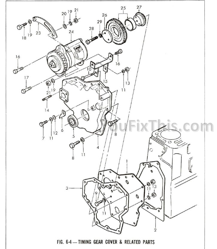 Ford 6610 Parts Manual Illustrated [Tractor] – YouFixThisYouFixThis